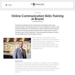 Online Communication Skills Training at Brunel