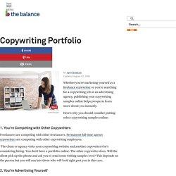 Online Copywriting Portfolio