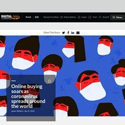 Online buying soars as coronavirus spreads around the world
