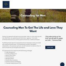 Online Counseling for Men in San Jose
