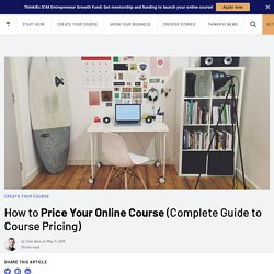 How to Price Your Online Course (Complete Guide to Course Pricing)