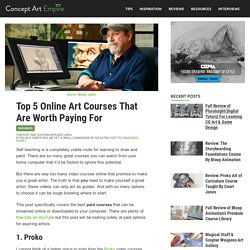 Top 5 Online Art Courses That Are Worth Paying For