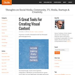 5 Great (and Free) Online Tools For Creating Visual Content