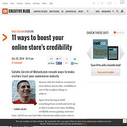 11 ways to boost your online store's credibility
