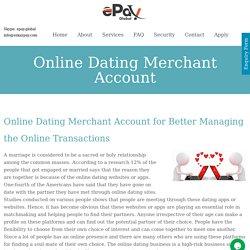 Online Dating Merchant Account - CBD Oil Merchant Account in UK