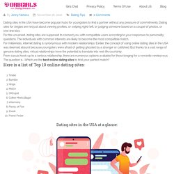Top 10 Best Online Dating Sites for Singles