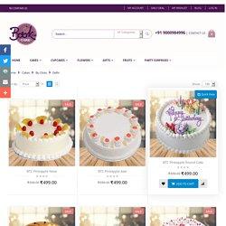 Online Cake Delivery in Delhi, Order Cake Online Delhi - Bookthecake