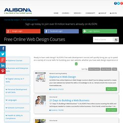 Free Online Web Design Courses - Learn Web Design