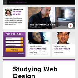 Online Web Design Degree Resources