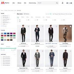 Suits for Men - Buy Men Suits Online, Designer Blazers