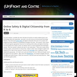 Online Safety & Digital Citizenship from K to 6
