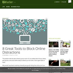 8 Great Tools to Block Online Distractions