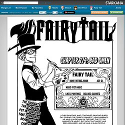 Chapter 274 < Fairy Tail < F < Manga Series