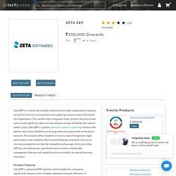 Online Download Zeta Erp- Techjockey