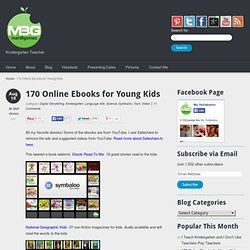 170 Online Ebooks for Young Kids