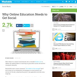 Why Online Education Needs to Get Social