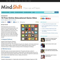 10 Free Online Educational Game Sites