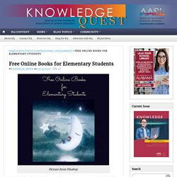 Free Online Books for Elementary Students