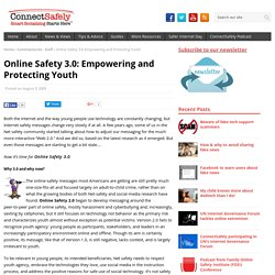 Online Safety 3.0: Empowering and Protecting Youth