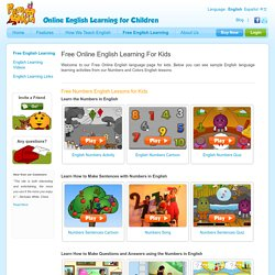 Free Online English Learning For Kids