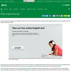 Online English level test