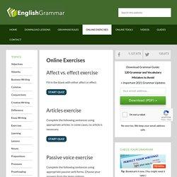 Online Exercises