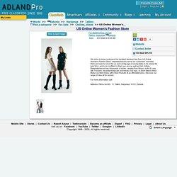 US Online Women's Fashion Store