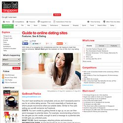 Guide to online dating sites :: Features :: Around Town :: Time Out Singapore