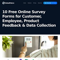 10 Free Online Survey Forms for Feedback & Data Collection