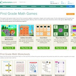 Free Online First Grade Math Games - Education.com