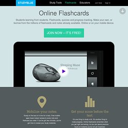 Online Flashcards