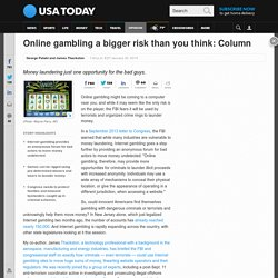 Online gambling a bigger risk than you think: Column
