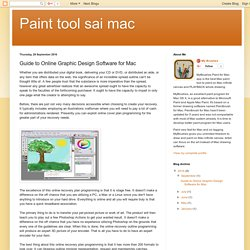Guide to Online Graphic Design Software for Mac