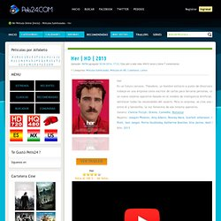 Ver Her Online Gratis Pelicula HD en Español