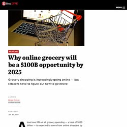 Why online grocery will be a $100B opportunity by 2025