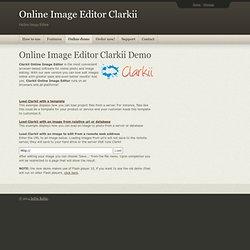 Online Image Editor Clarkii