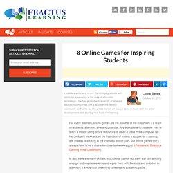 8 Online Games for Inspiring Students