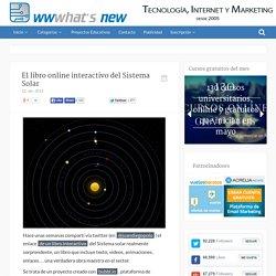El libro online interactivo del Sistema Solar