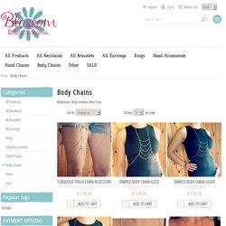 Belly Chain Necklace - blossomaccessories.co.za