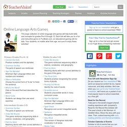 Online Language Arts Games