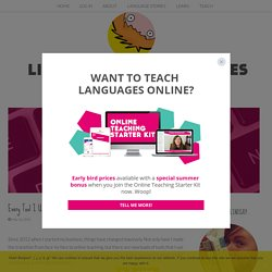 Every Tool I Use To Make My ONLINE LANGUAGE BUSINESS happen