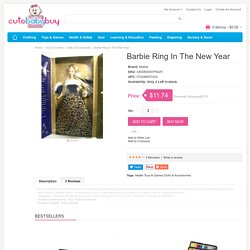 Buy online Latest Barbie Ring In The New Year on cutebabybuy.com