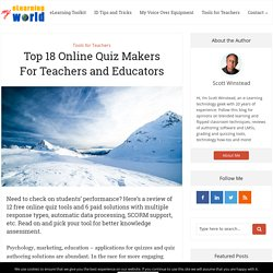 Top 10 Free Online Quiz Makers for Learner Assessment