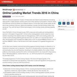 Online Lending Market Trends 2016 in China - BettyKrueger