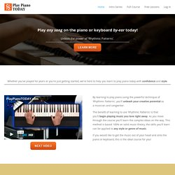 Piano Lessons Learn Piano BY EAR (Free Videos Online)