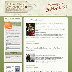 Online life coaching blog | A Daring Adventure