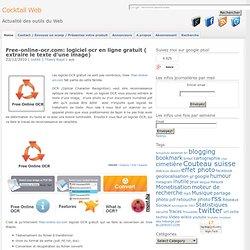 Free-online-ocr.com: logiciel ocr en ligne gratuit