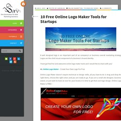 10 Free Online Logo Maker Tools for Startups