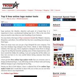 Top 5 free online logo maker tools - TechieGIG