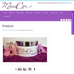 MamaCare Body Butter Cream
